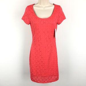 Isaac Mizrahi Coral Sheath Dress